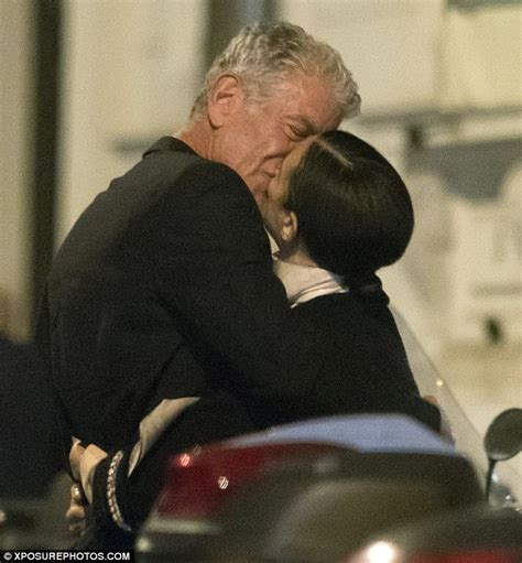 Anthony Bourdain spends evening in Rome with new love ...