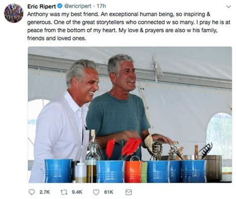 Anthony Bourdain suicide: Eric Ripert who 'discovered chef ...