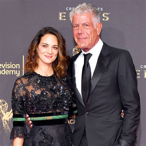 Anthony Bourdain Supports Girlfriend Asia Argento Amid ...