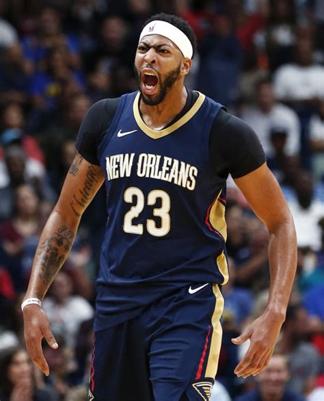 Anthony Davis listed as questionable for Thursday's game ...
