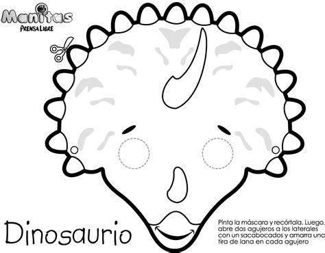 Antifaces de dinosaurio - Imagui