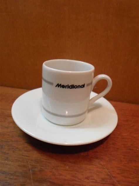 Antiga Xícara Café Cafezinho Banco Meridional Do Brasil ...