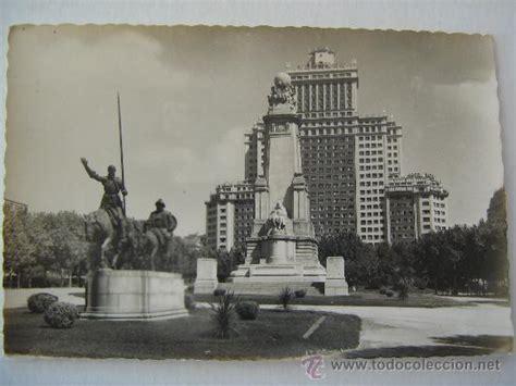 antigua postal año 1955 madrid plaza de españa   Comprar ...