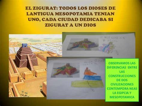Antiguas Civilizaciones Mesopotamia Y Egipto