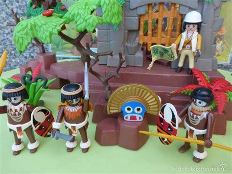 antiguas ruinas mayas templo clicks playmobil-j - Comprar ...