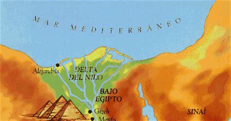Antiguo Egipto: Mapa del antiguo egipto