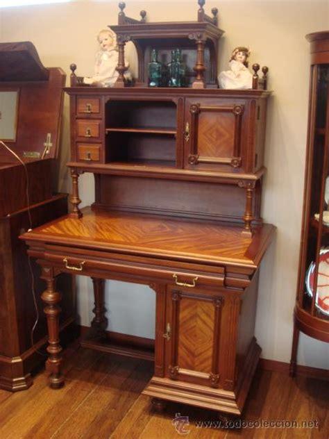 antiguo mueble alfonsino de madera de caoba-res - Comprar ...