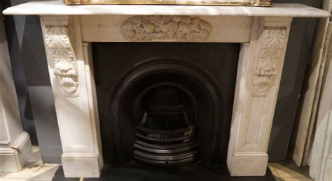 Antique Victorian Carved Statuary White Marble Corbel ...