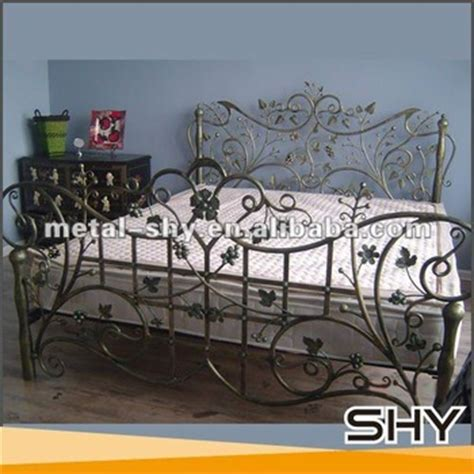 Antique Wrought Iron Cast Iron Bed Furniture For Sale ...