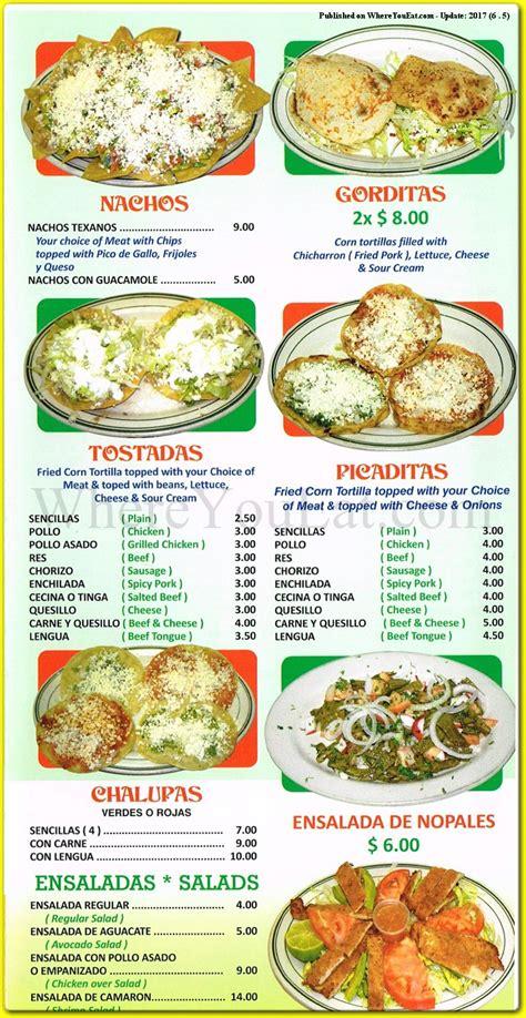 Antojitos Mexicanos Mexican Restaurant in Williamsburg ...