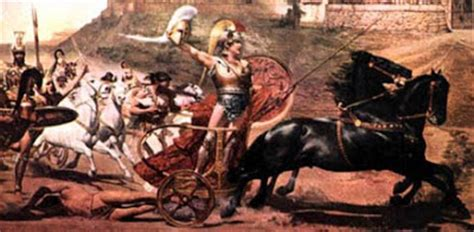 Antología de textos: Combate de Héctor y Aquiles