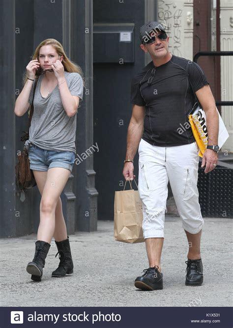 Antonio Banderas Daughter Stella Banderas Stock Photos ...