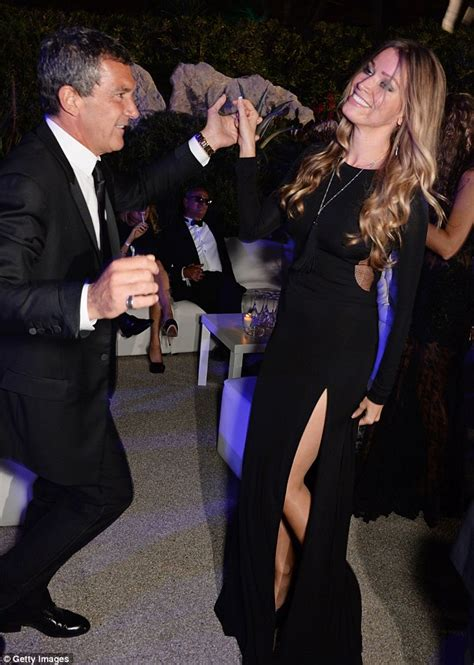 Antonio Banderas' new love revealed as Dutch banker Nicole ...