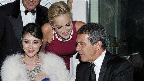 Antonio Banderas y Sharon Stone, romance a la vista