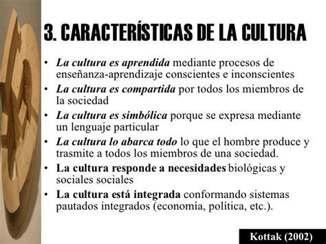 Antropologia Cultural Conceptos Y Enfoques