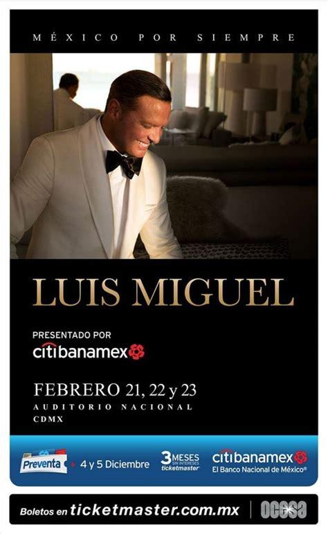 Anuncia Luis Miguel gira para 2018 en México | Backstage LC
