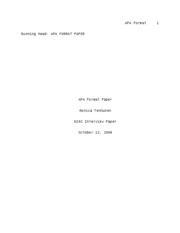 APA Example Paper - APA Format 1 Running head: APA FORMAT ...