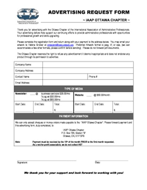 Apa Itu Advertisement Form - Fill Online, Printable ...