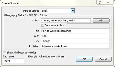 APA, MLA, Chicago – automatically format bibliographies   Word