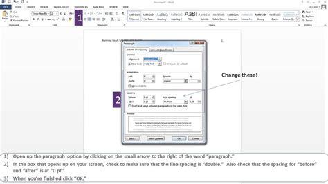 APA Paper Microsoft Word 2013 - YouTube