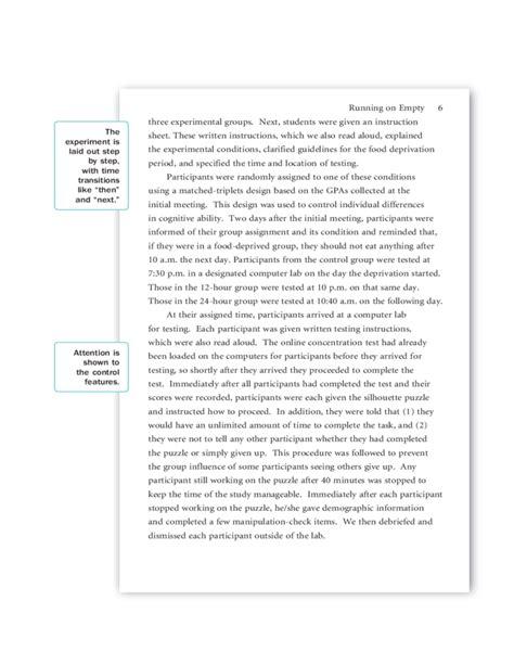 Apa research paper sample owl