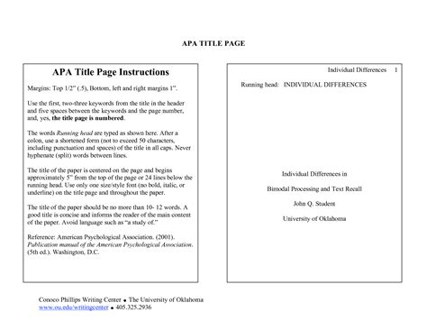 Apa research paper section headings. The American ...