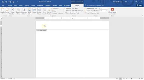 APA running head and page number in MS Word - YouTube
