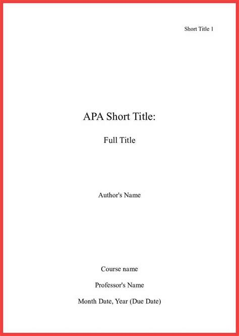 apa title page format 2016 | memo example