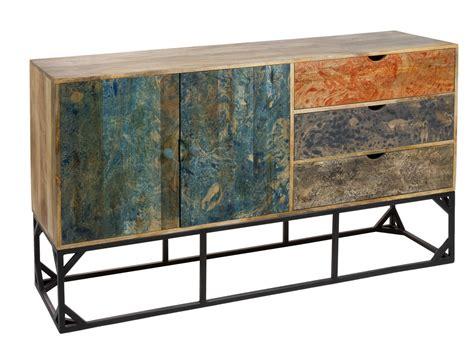 Aparador vintage de colores madera de mango y patas de ...