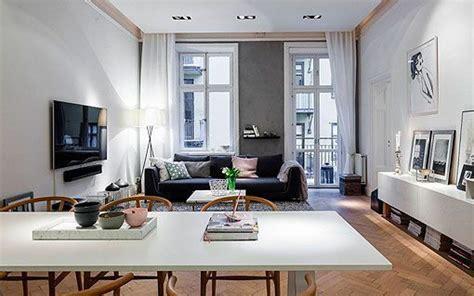 Apartamento moderno y elegante al estilo nórdico