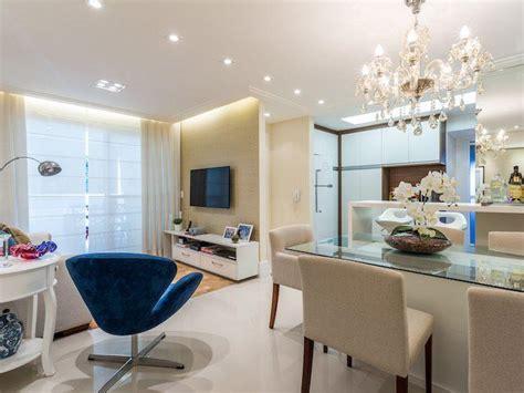 Apartamento pequeno decorado com cores claras que você vai ...