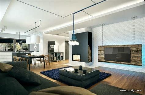 Apartamento Pequeno Decorado e Moderno na Polônia. Pequeno ...