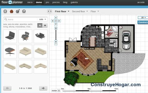 Aplicaciones online para hacer planos de casas gratis ...