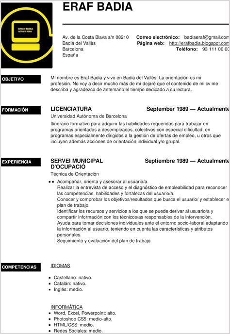 Aplicaciones para crear Currículum – Grupo dChain ...