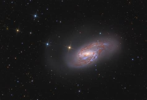 APOD: 2010 November 13 - Spiral Galaxy M66