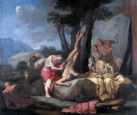Apollo and Marsyas by CARPIONI, Giulio