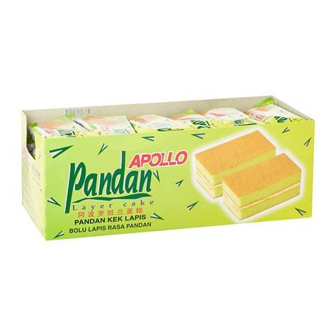 Apollo Layer Cake   Pandan 18g   from RedMart