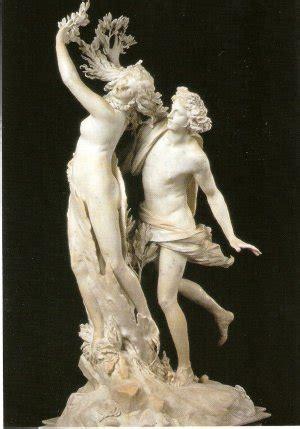 Apolo y Dafne, en la galería de Villa Borghese