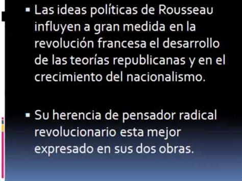 Aportación de Jean Jacques Rosseau a la administración ...