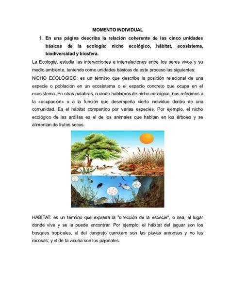 Aporte individual Ecologia Wiki 2 Fernanda Ortiz