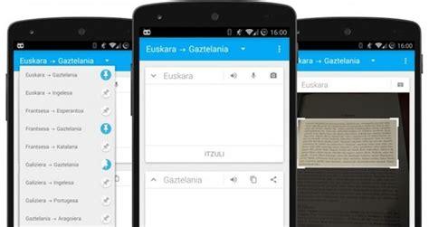 App gratuita para traducir textos y audios Mitzuli