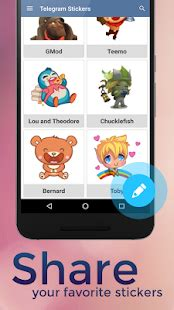 App Telegram Stickers APK for Windows Phone | Android ...
