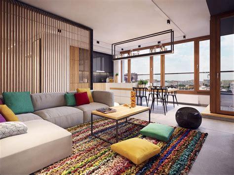 Appartement moderne au design minimaliste et chaleureux à ...