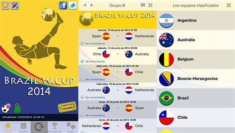 Apps para ver los resultados del mundial de fútbol en directo