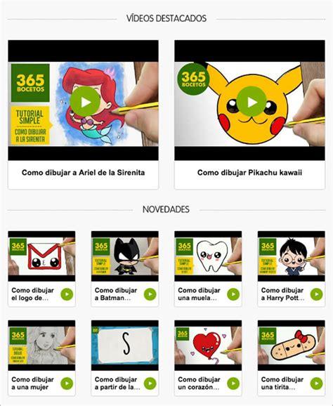 Aprende a Dibujar con 365 Bocetos y Dibujos.net - Dibujos.net