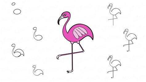 Aprende a dibujar un flamenco paso a paso