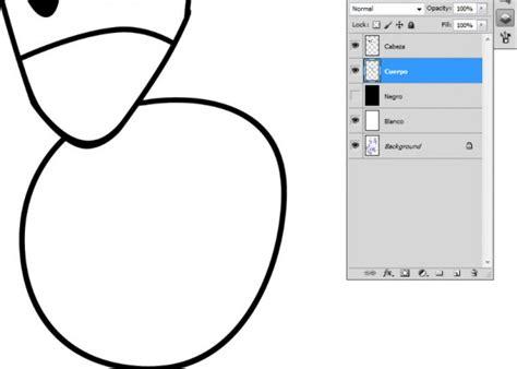 Aprende a entintar dibujo en Photoshop - Uneweb Instituto