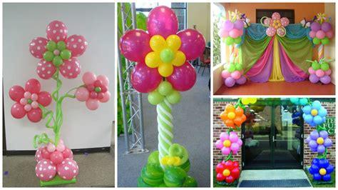 Aprende cómo hacer columnas de flores con globos para ...