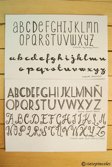 Aprender caligrafia 3_Handlettering 14 | SONY DSC | Siete ...