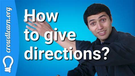 Aprender Inglés - Cómo dar direcciones en Inglés - YouTube